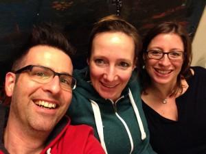 Mit Patrick Bach und Susanna Keye