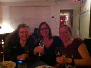 Dinner mit Cathrine Sadolin und Susanna Keye